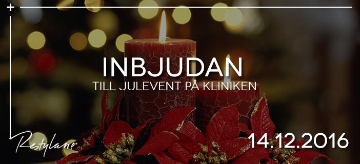 Inbjudan til Julevent
