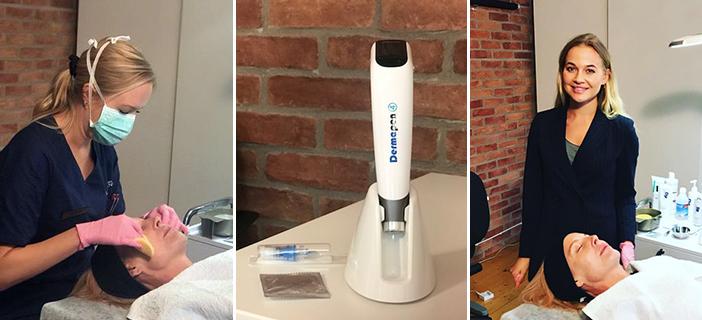 Dermapen 4 – Världens första digitala microneedling penna på Karlstads Kirurgiska Laserklinik